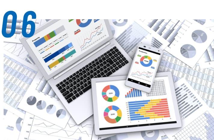 経営判断に必要な情報を提供